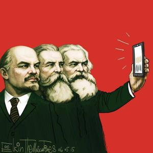 Lenin Marx Engels kommunismi media some